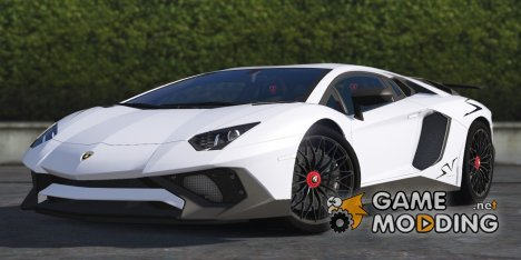 Lamborghini Aventador LP750-4 SV 2015 for GTA 5