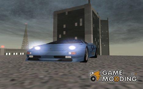 Lamborghini Diablo SV 1995 для GTA San Andreas