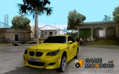 BMW M5 Gold Edition for GTA San Andreas