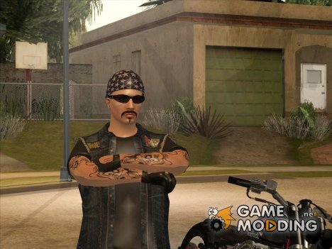 Biker from GTA Online v2 для GTA San Andreas