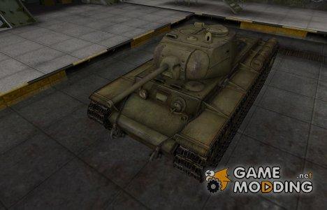 Шкурка для КВ-1С в расскраске 4БО для World of Tanks
