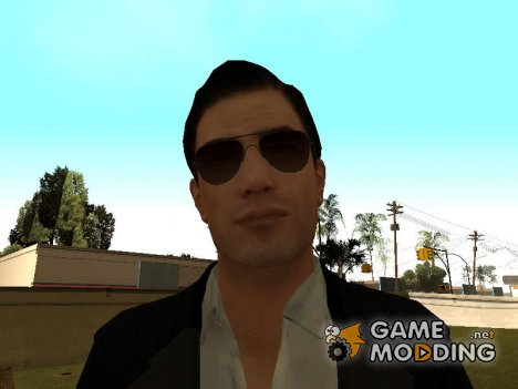Vito's Black and White Made Man Suit from Mafia II для GTA San Andreas