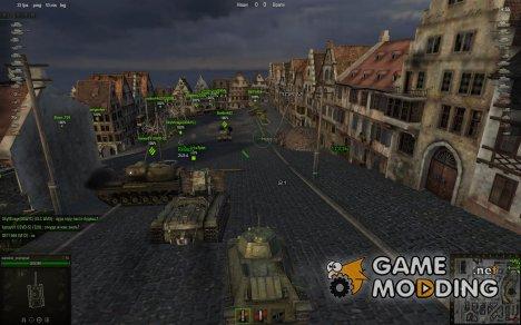 Переделанные прицелы 0.7.1.1 for World of Tanks