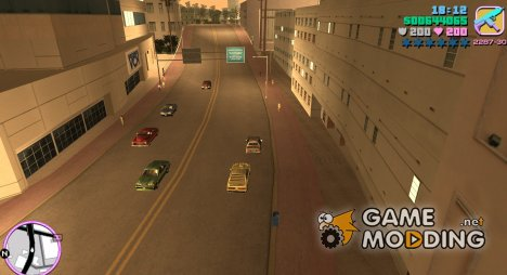 Optimized Traffic Paths for GTA Vice City