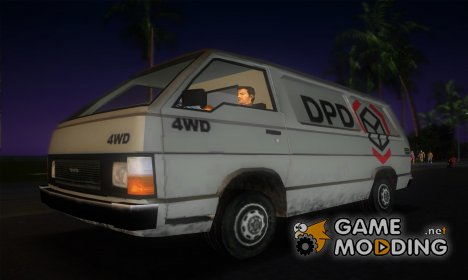 Toyota Hiace DPD '86 for GTA Vice City