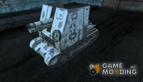 Шкурка для Sturmpanzer I Bison for World of Tanks
