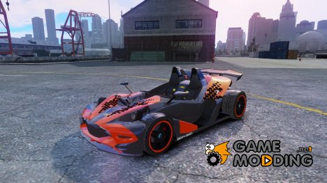 KTM X-BOW Body Kit Final для GTA 4