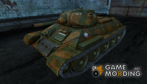 Шкурка для Т-34 for World of Tanks