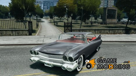 Cadillac Eldorado 1959 interior red для GTA 4
