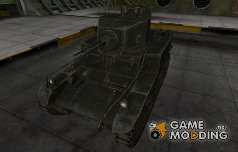 Шкурка для американского танка M3 Stuart for World of Tanks