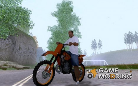 KTM SX 250 Skull for GTA San Andreas