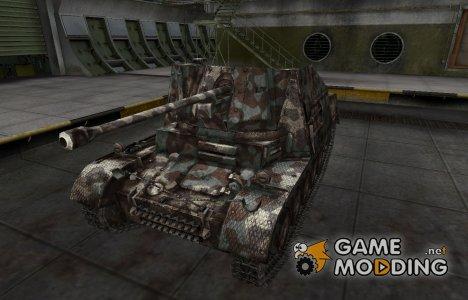 Горный камуфляж для Marder II для World of Tanks