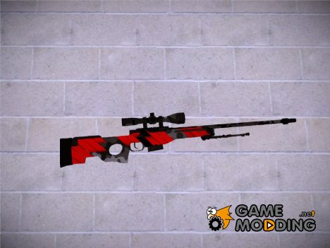 CSGO - AWP Neural Red for GTA San Andreas
