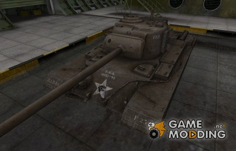 Исторический камуфляж T32 для World of Tanks