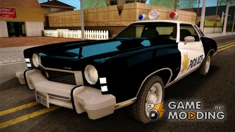 Chevrolet Monte Carlo 1973 Police for GTA San Andreas