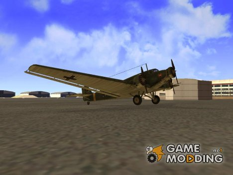 Junkers Ju-52 for GTA San Andreas