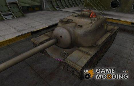 Качественные зоны пробития для T110E3 для World of Tanks