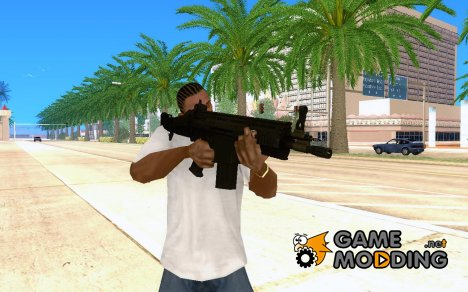 """""""SCAR-H"""" by C.M.D.A.S for GTA San Andreas"""