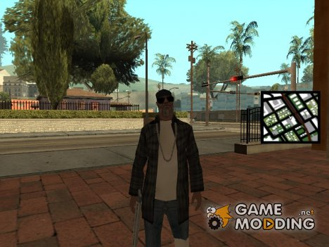 Gangsta Homeless для GTA San Andreas