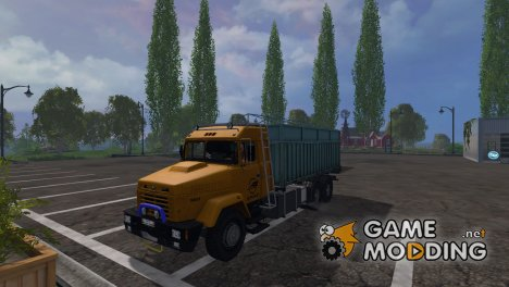 КрАЗ 64431 for Farming Simulator 2015
