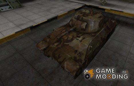 Шкурка для американского танка T14 для World of Tanks