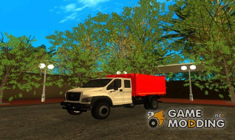 ГАЗон NEXT САЗ-2507 С большой кабиной for GTA San Andreas