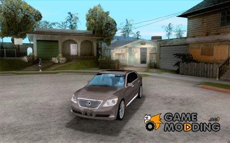 Lexus LS460L 2010 for GTA San Andreas
