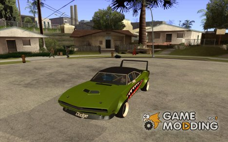 Dodge Charger RT SharkWide для GTA San Andreas