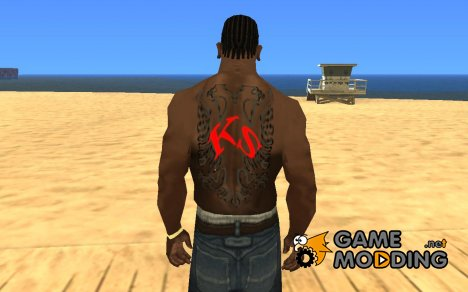 Albanian Eagle Tattoo для GTA San Andreas