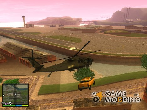 Магнит для вертолёта для GTA San Andreas