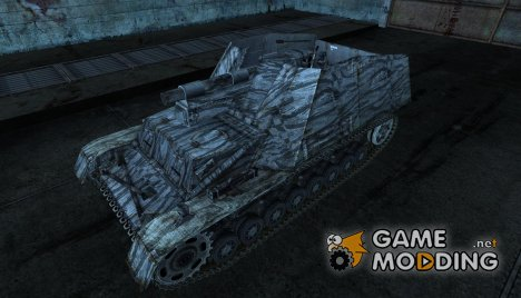Hummel от Mohawk_Nephilium для World of Tanks