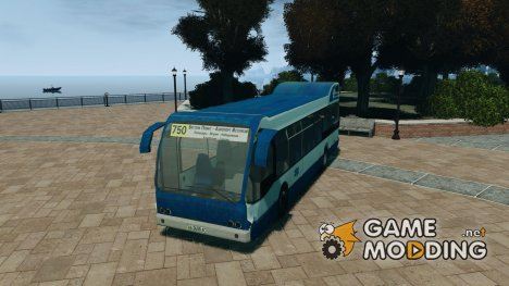DAF Berkhof City Bus Amsterdam for GTA 4