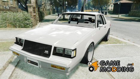 Buick Grand National для GTA 4