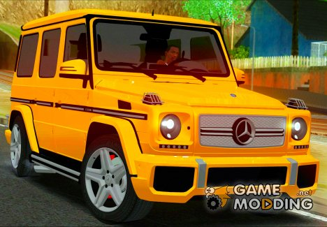Mercedes-Benz G65 2013 Stock Body для GTA San Andreas