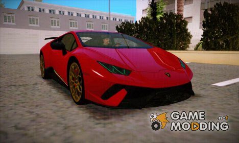 Lamborghini Huracan Performante LP640-4 2017 Wheel style 2 for GTA San Andreas