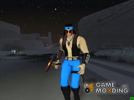 Nightwolf  Mortal Kombat for GTA San Andreas