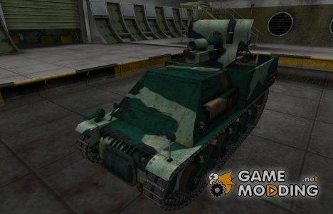Французкий синеватый скин для Lorraine 39L AM for World of Tanks