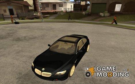 BMW 645ci E63 2004 с белым салоном для GTA San Andreas
