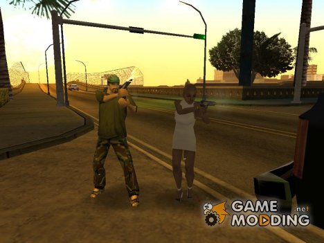 Замаскированные копы for GTA San Andreas