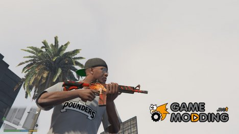 M4A4 Howl from CS:GO 1.0 for GTA 5