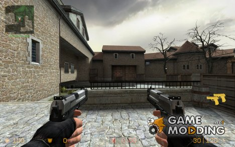 Lara Croft USP Match Dualies for Counter-Strike Source