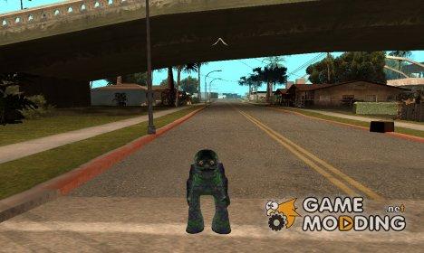 Скин монстра из Алиен сити for GTA San Andreas