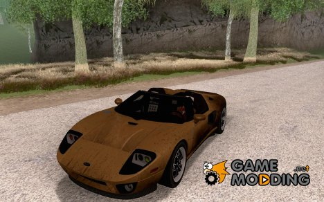 Ford GTX1 Roadster 2005 V1.0 for GTA San Andreas