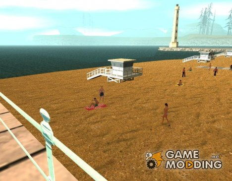 New Santa Maria beach для GTA San Andreas