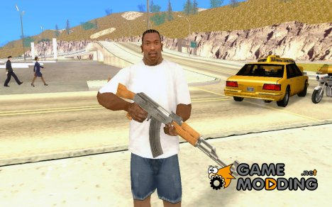 Ak47 Weapon From GTA IV для GTA San Andreas
