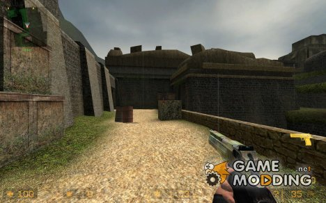 deagle w/ camo для Counter-Strike Source
