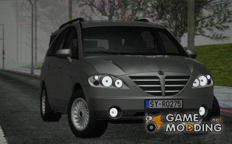 SsangYong Rodius 2010 для GTA San Andreas