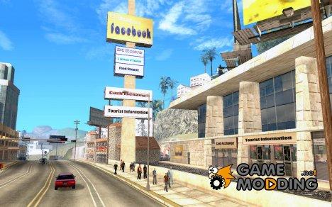 New Mullholland\Новая улица Мулхолланд for GTA San Andreas