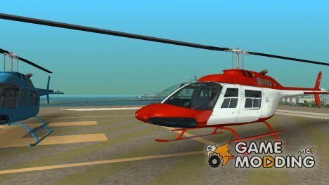 Bell 206B JetRanger for GTA Vice City