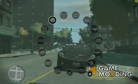 Radio HUD из GTA V для GTA 4